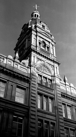 The Wallace St central tower.     December 1975