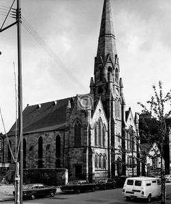 Plantation St.  Plantation Parish Church, still going strong.     July 1975