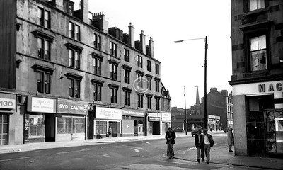 Paisley Rd West, south side looking west from Mair St.     June 1975