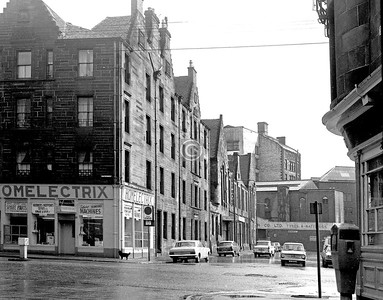 Saltmarket and Steel St.  25 March 1973