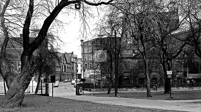 Couple of random shots from the west end of the Green. April 1973