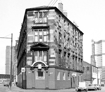 Cathcart Rd and Thistle St.   April 1973