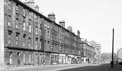 Crown St, west side, north of Cumberland St.    April 1973
