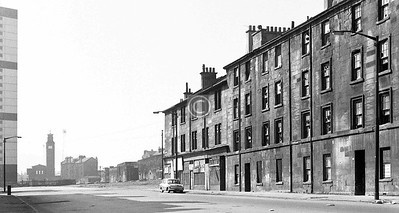 Hospital St, what was left of the south end.    April 1973