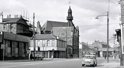 Ballater St, looking west from Florence St.    April 1973