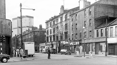 Crown St from Ballater St.    July 1973
