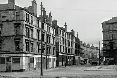 Dunmore St, looking east from Portugal St to Old Rutherglen Rd.    April 1973
