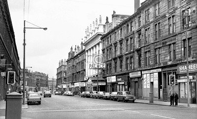 Gorbals St, east side from Bedford Lane.    April 1973