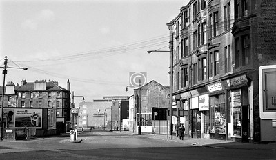 Stirling Rd from Castle St.    April 1973