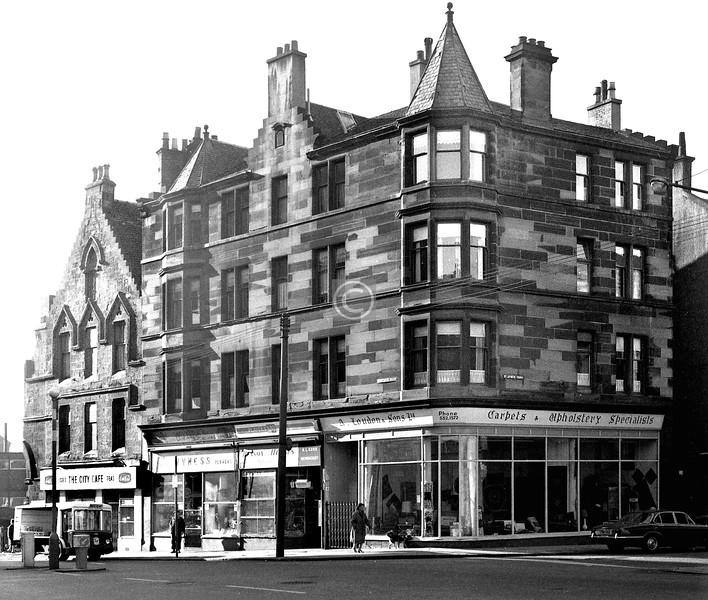 Corner of Castle St. and St James Rd.    October 1973