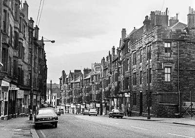 High St above George St.  April 1973