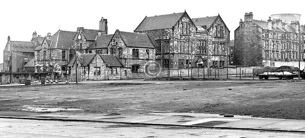 Kennedy St. School from Parliamentary Rd.  March 1973