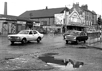 Castle St, west side, north of Parson St.   The Casino was not a casino but a cinema.    March 1973