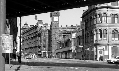 Gallowgate at the Cross.   April 1973