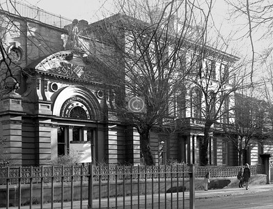 Greenhead St.   Built in 1846 by Charles Wilson as Greenhead House, the McPhail mansion, this became in 1859 the Buchanan Institute, a charitable school, and from 1920 to 1975 was St Aidan's School . Now well restored and divided into flats.    January 1974