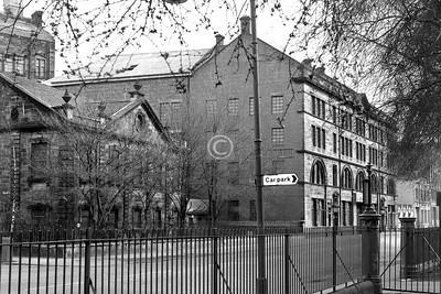 Greendyke St.   Beyond St Andrew's by  the Green (1751, now offices) is R. Ramsay & Co.'s Hide, Wool and Tallow Auction Market and warehouse (Keppie, 1890). Having fallen into disuse, it was rescued by being converted into flats. The Homes for the Future development now starts immediately east of it.    April 1973