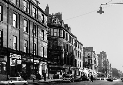 London Rd, north side east of the railway bridge.   The buildings have been totally obliterated since.    October 1973