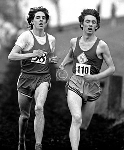 Scottish Cross-country Championships at Bellahouston Park, 17th January 1976.