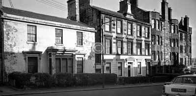 Buccleuch St., north side east of Dalhousie St.  February 1976
