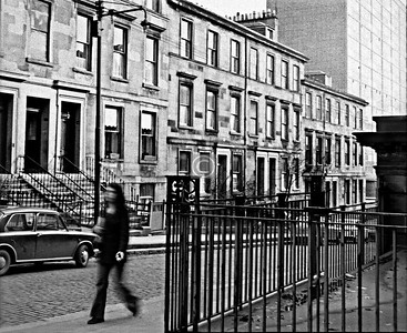 Renfrew St north side east of Dalhousie St.  March 1974