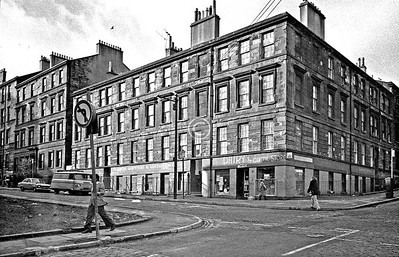 Rose St / Buccleuch St.  February 1976