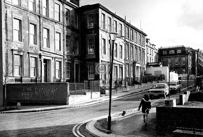 Hill St., west end.   February 1976