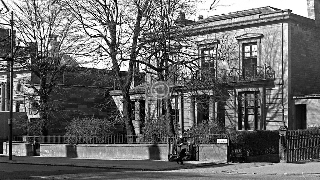 The house just up St Georges Rd from the Woodside Library.