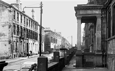 Buccleuch St. at the Girls' High.  March 1974