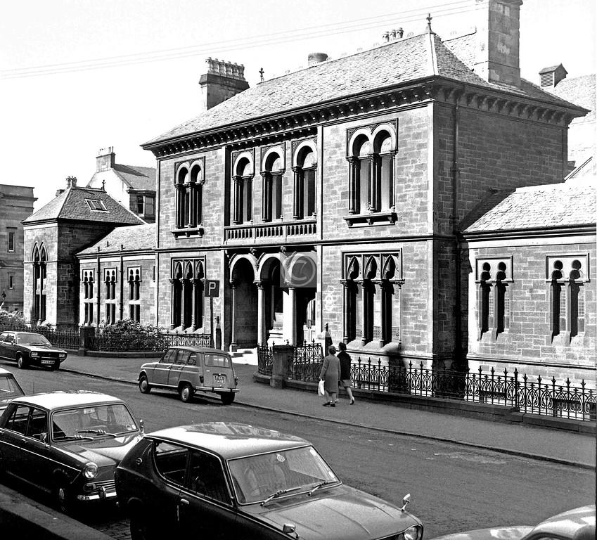 Cranworth St.  Western Baths.  May 1975
