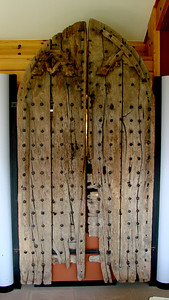 Door now preserved in the Abbey museum.