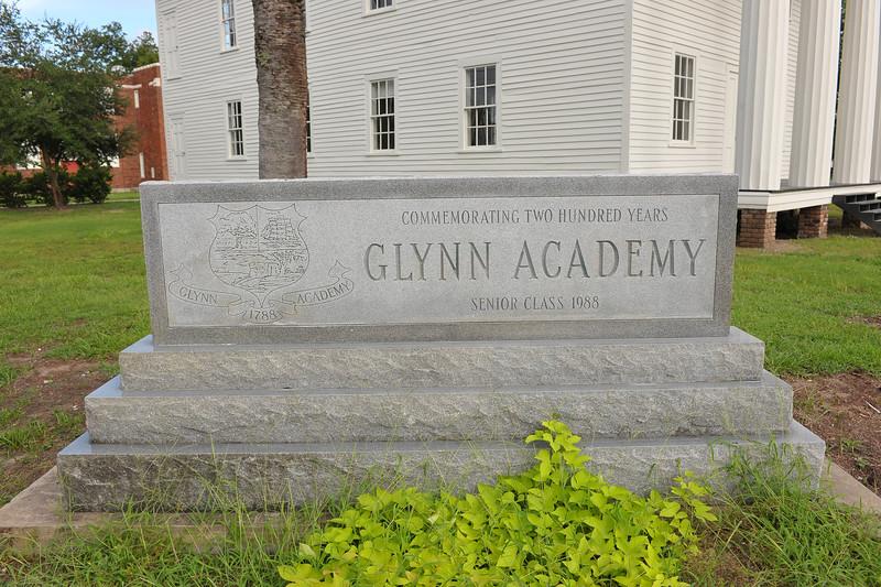 Glynn Academy School House back on Campus 08-15-09