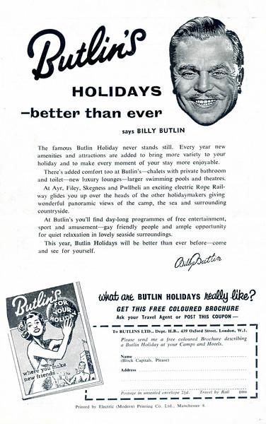 Butlins Holidays