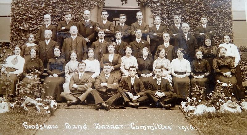 Goodshaw Band Bazaar Committee 1915