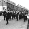 Goodshaw Band St James The Less May Procession 1967 Burnley Road bottom of Prospect Road