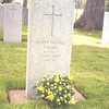 Canada 1995   Grave of J's brother in Esquimault Vancouver Island