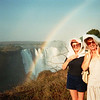 Kathleen & Joan   Victoria Falls 1983