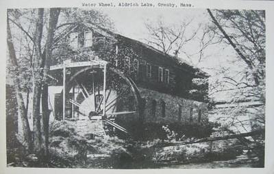 Granby Aldrich Lake Water Wheel