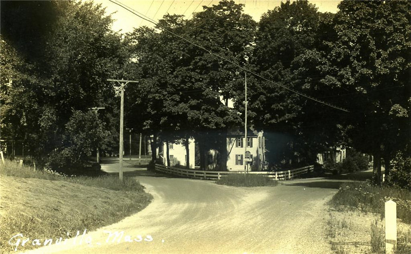 Granville Fork in Road