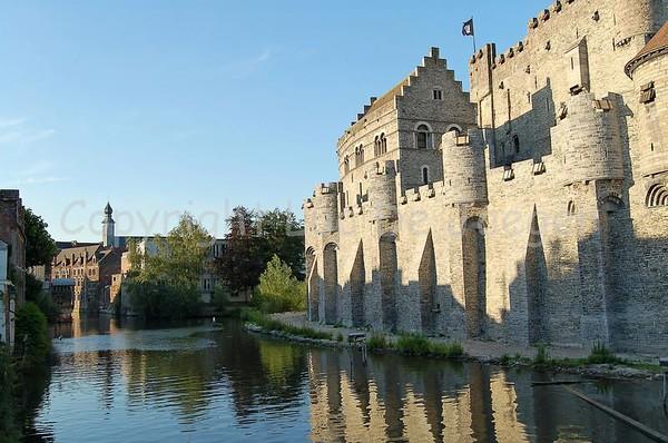Gravensteen Ghent/Gent, Belgium