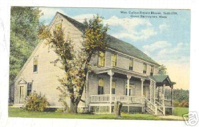 Great Barrington Bryant Homestead