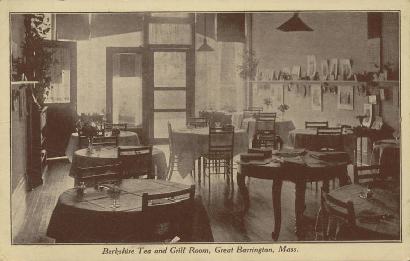 Great Barrington  Berkshire Tea Rm Interior