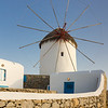 Windmill at Mykonos, Greece