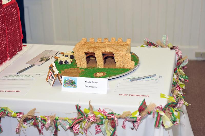 Historic Brunswick Foundation Dart House Gingerbread Fundraiser 11-19-14