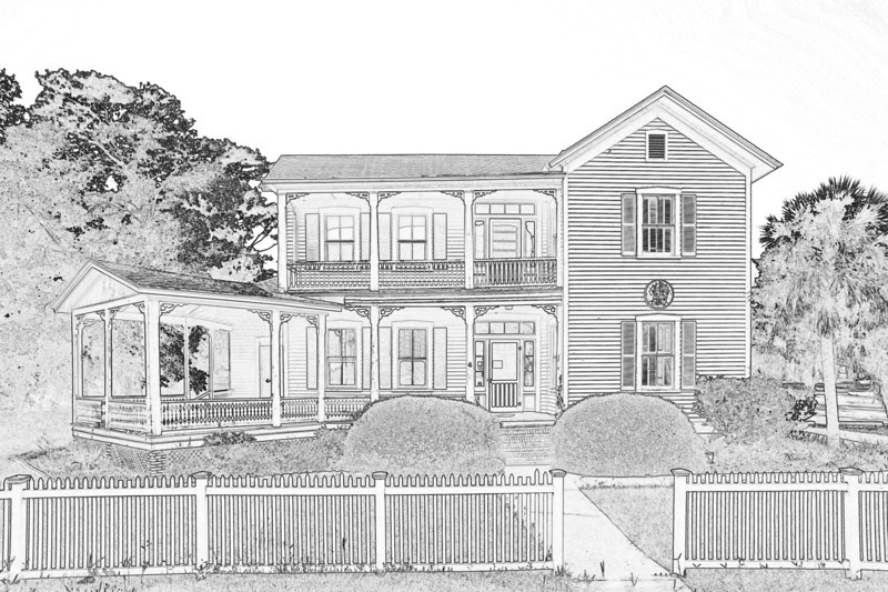 The Dart House in Brunswick, Georgia 09-09-13
