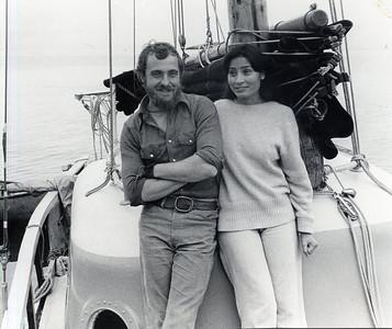 "Aboard Nick's ""GRASSHOPPER"" , Catalina Island, California Christmas 1977"