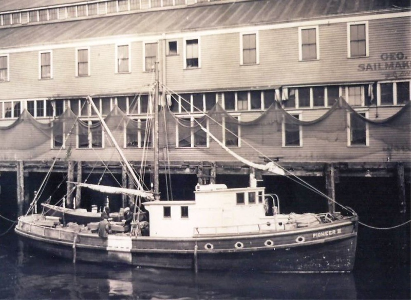 Pioneer III  Built 1917 Seattle Edvin Eliasen Jalmar Rockness  Delbert Krajewski  Pic taken Seattle