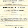 1913 Jalmar Rockness Fisherman's License Seattle