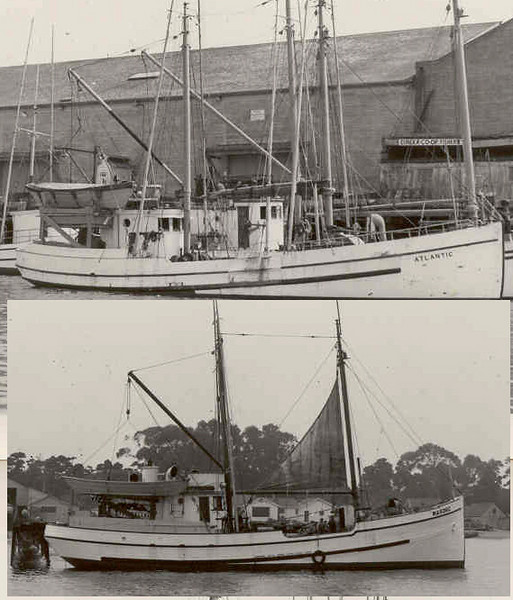 Atlantic  Built 1912 Seattle  John Gerde  Gordon Gerde  Harry Saxen  Steven Simpson  Masonic  Liahona  Built 1929 Tacoma  David Daneman  John Hansen  Einar Rice  Peder Bredal  Colvin Falk  Mark Lundsten  William Lewis