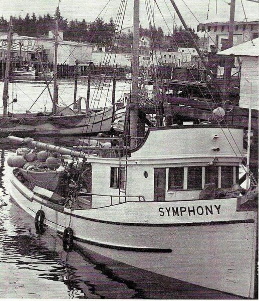 Symphony Built 1946 Sagstad Seattle   Gordon  Jensen  Edwin Fuglvog  Aril Mathisen  Klara Mathisen Wayne Mathisen