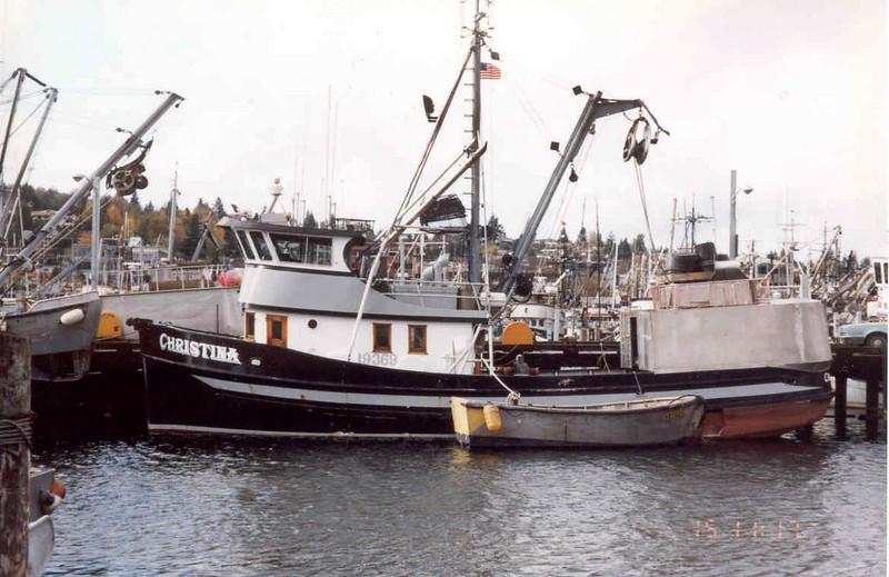Christina,Mildred,Julie Jolynn,Saga,Built 1951 Maritime Shipyards Seattle,nakat Packing,James Maloney,Lynn Barcott,John Matsuura,Robert Ayres,Cody Evans,Dennis Sperl,